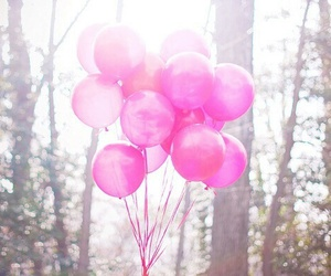 pink and balloons image
