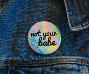 babe, grunge, and pins image