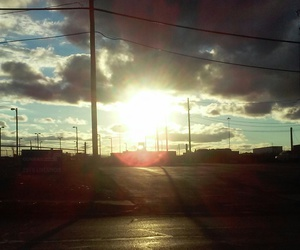 beautiful, clouds, and road image