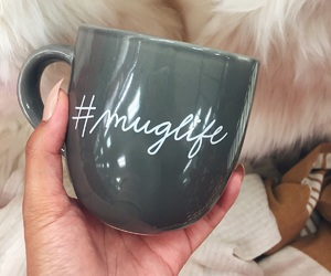 mug, coffee, and life image