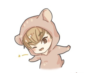 chibi, exo, and hamster image