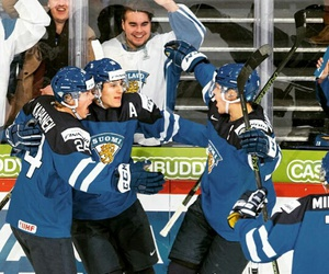 finland, hockey, and sport image
