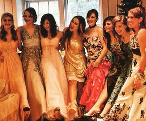 friendship, Prom, and girls image