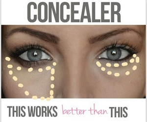 concealer, makeup, and make up image
