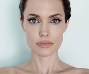 Angelina Jolie, actress, and eyes image