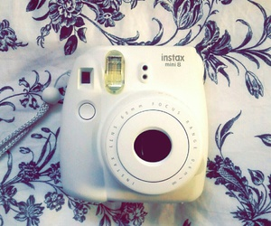 bed, instax, and white image