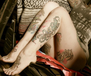 sexy, tattoed, and Tattoos image