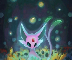 pokemon, espeon, and eeveelution image