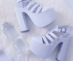 shoes, purple, and pastel image