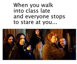 harry potter, funny, and class image