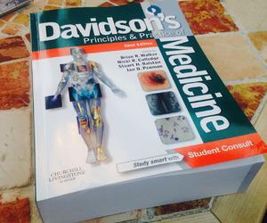 medicine, study, and davidsons image