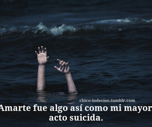 suicida, sufrimiento, and frases triste image