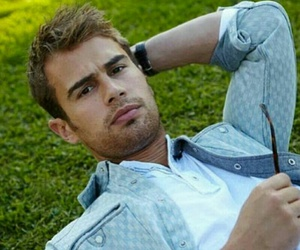 theo james, divergent, and four image