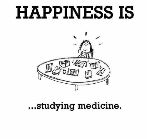 medicine, happiness, and study image