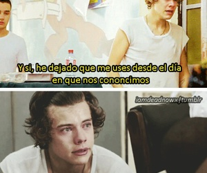 frases, Harry Styles, and one direction image