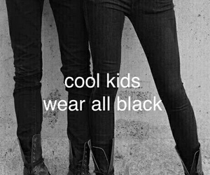 black, kids, and cool image