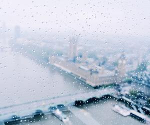 rain, city, and london image