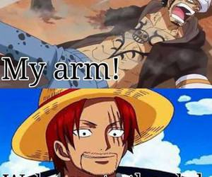 one piece, Law, and shanks image
