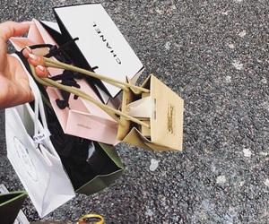 shopping, chanel, and bag image