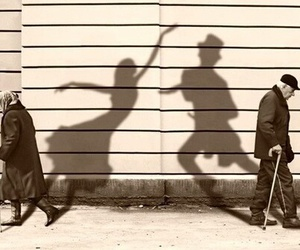 dance and old image