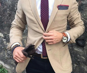class, fashion, and men image