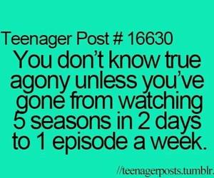 teenager post, funny, and season image