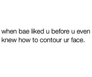 bae, contour, and funny image