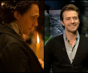 Collage, richard armitage, and tom hiddleston image