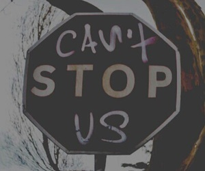 grunge, stop, and hipster image