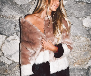 beige, fur, and hair image