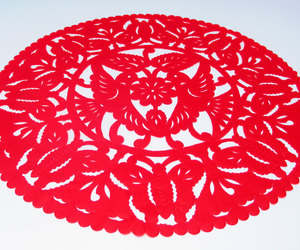 etsy, table decoration, and papel picado image