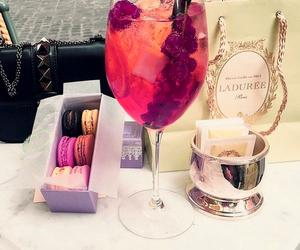 drink, luxury, and laduree image