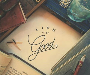 book, good, and life image