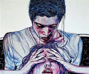 art, love, and boy image