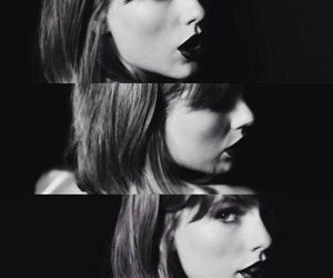 Taylor Swift, black and white, and style image