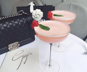 drink, chanel, and cocktail image