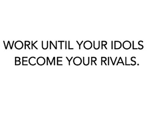 quote, idol, and motivation image