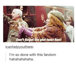 forget, plot, and molly weasley image