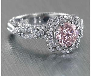 diamond, girl, and ring image