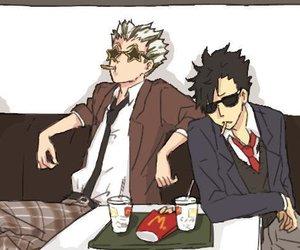 anime, bros, and manga image