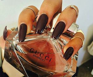 nails, gucci, and luxury image