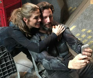 the 100 and abby image