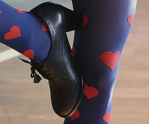 hearts, heart, and shoes image