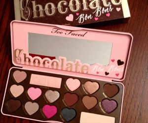 chocolate, palette, and lové image