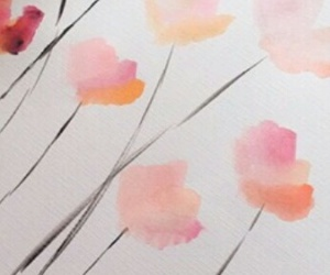 flowers, Taylor Swift, and painting image