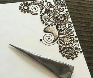art, beautiful, and henna image