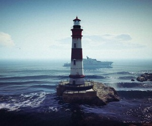 lighthouse, videogame, and pc image