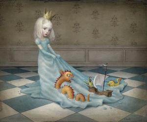 Nicoletta Ceccoli, princess, and art image
