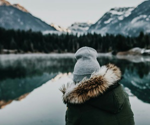 nature, mountains, and style image