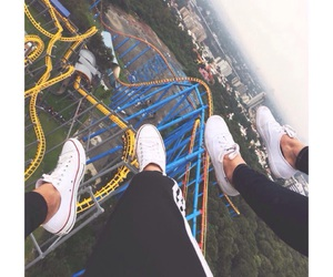 converse, sixflags, and friendships image